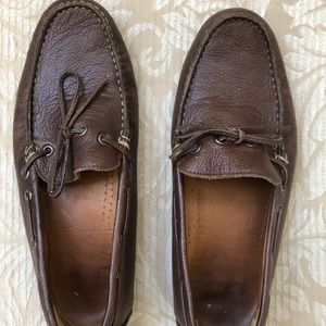 Clark's men's brown leather shoes size 8 1/2 M